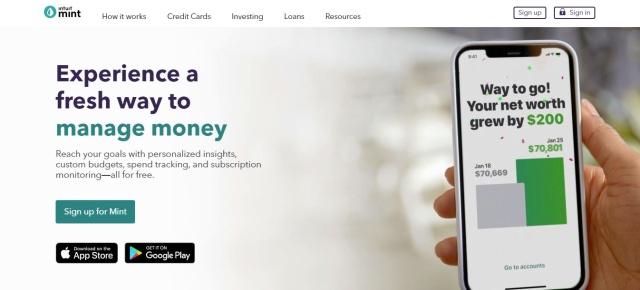 Mint Budgeting App App