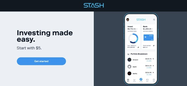 Stash Website - Acorns Vs Stash